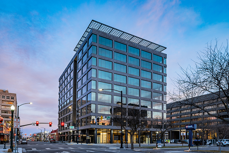 11th & Idaho building, downtown Boise's newest office building