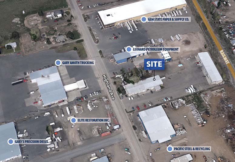 TOK Commercial leases industrial space in Twin Falls, iD