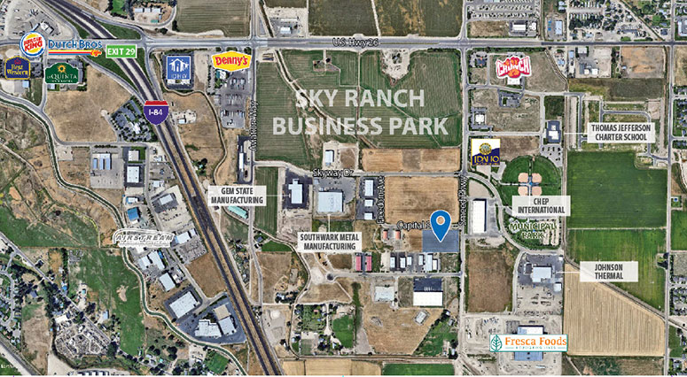 Sky Ranch Business Park Caldwell Idaho