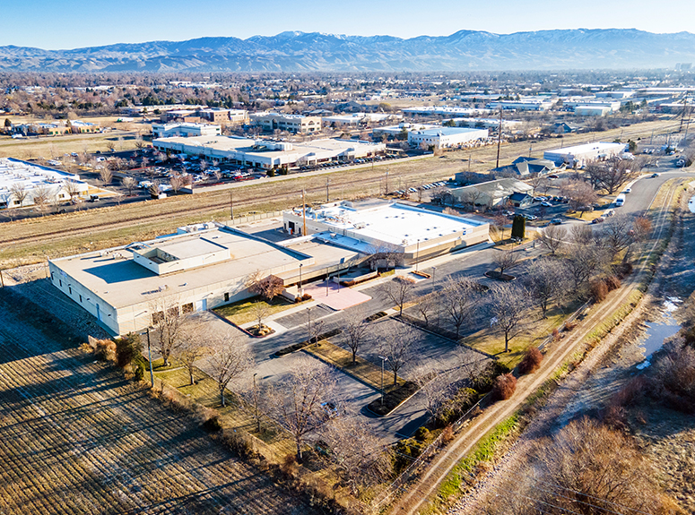 Photo of the 9700 Bethel Court Industrial Building in Boise, Idaho