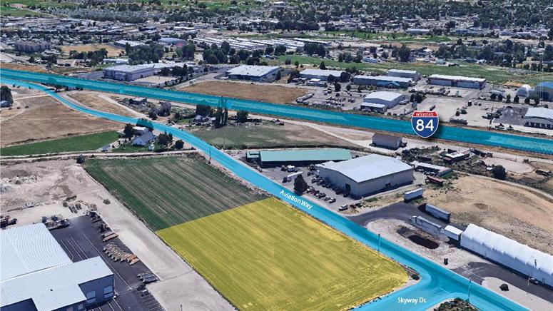 Aviation Way and Skyway Street Caldwell Idaho