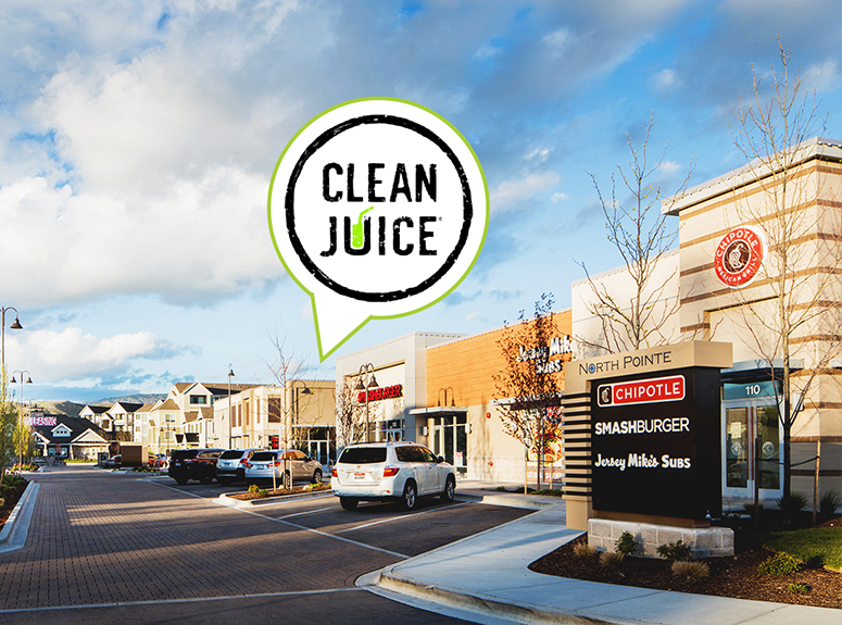 Clean Juice Finds New Location at North Pointe Retail