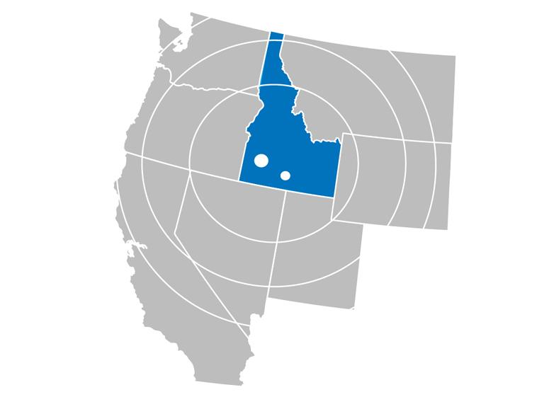 Boise MSA Top 10 Growth Nationwide
