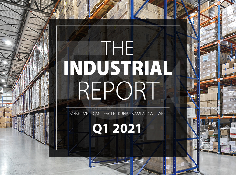 TOK Commercial's Industrial Report for Q1 2021 in the Boise MSA