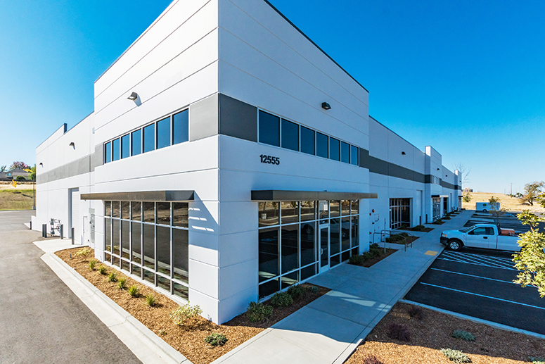 Franklin Commerce Center, a new construction 35,464 SF industrial building