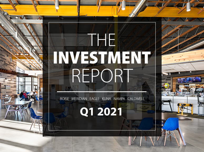 TOK Commercial's Investment Report for Q1 2021 in the Boise MSA