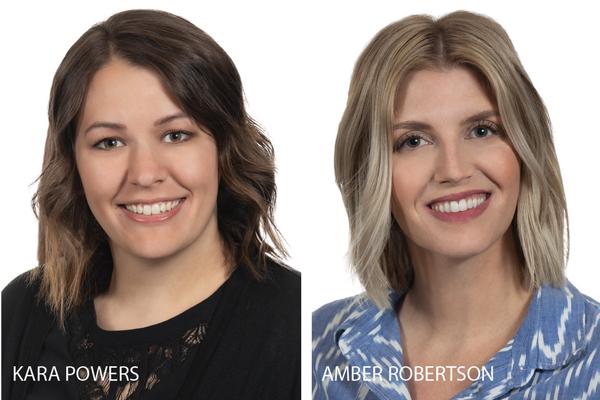 Kara Powers and Amber Robertson join Thornton Oliver Keller