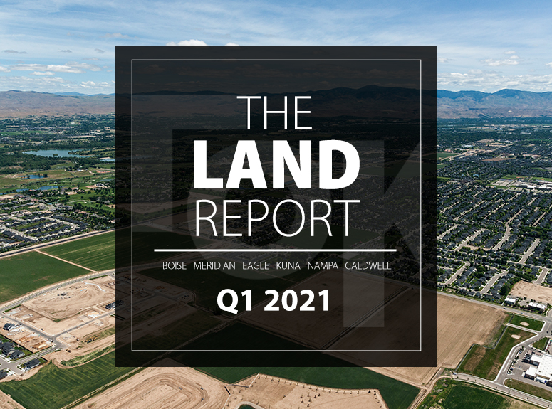 TOK Commercial's Land Report for Q1 2021 in the Boise MSA