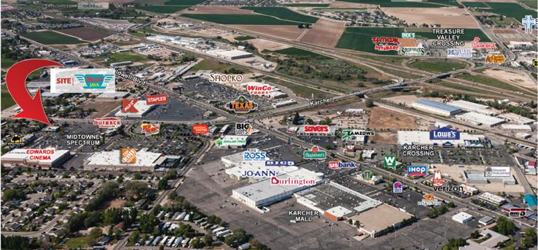Midtowne Spectrum Shops Nampa Idaho