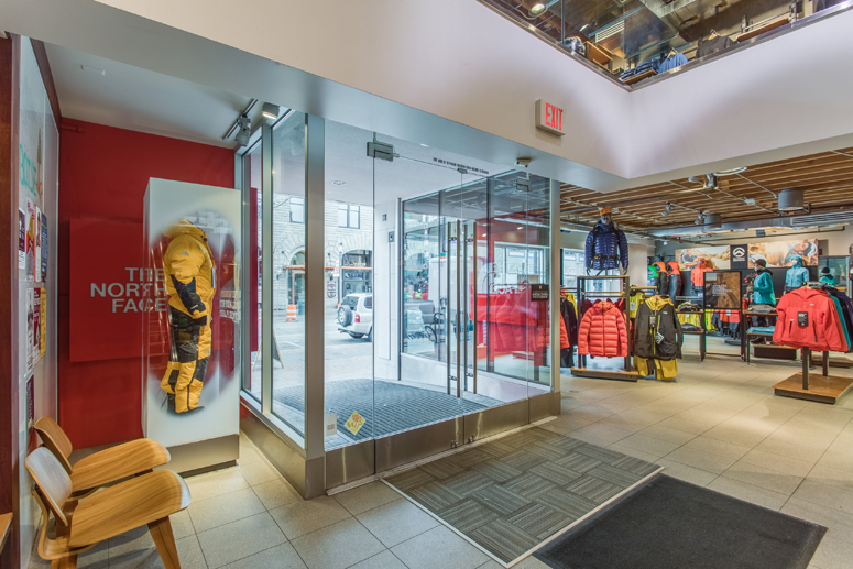 National retail store North Face Idaho