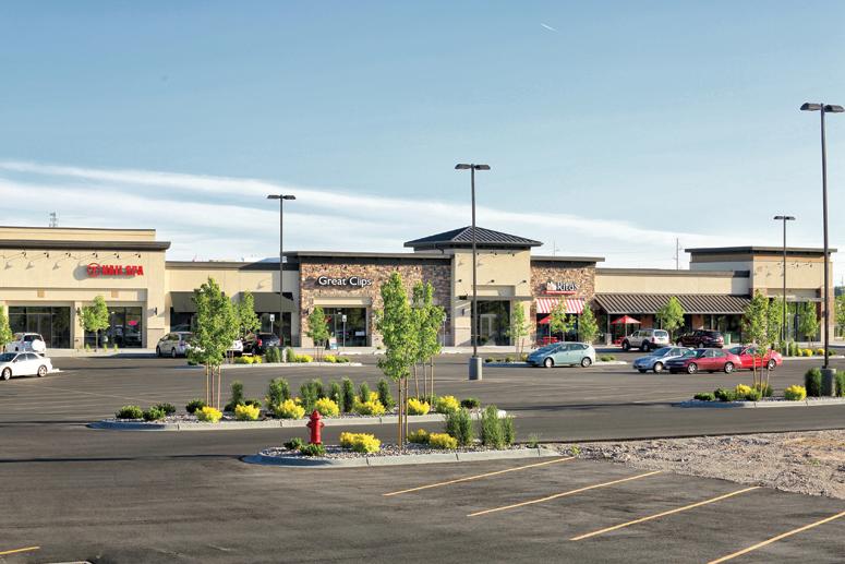 Sandcreek Commons retail shopping center Ammon Idaho