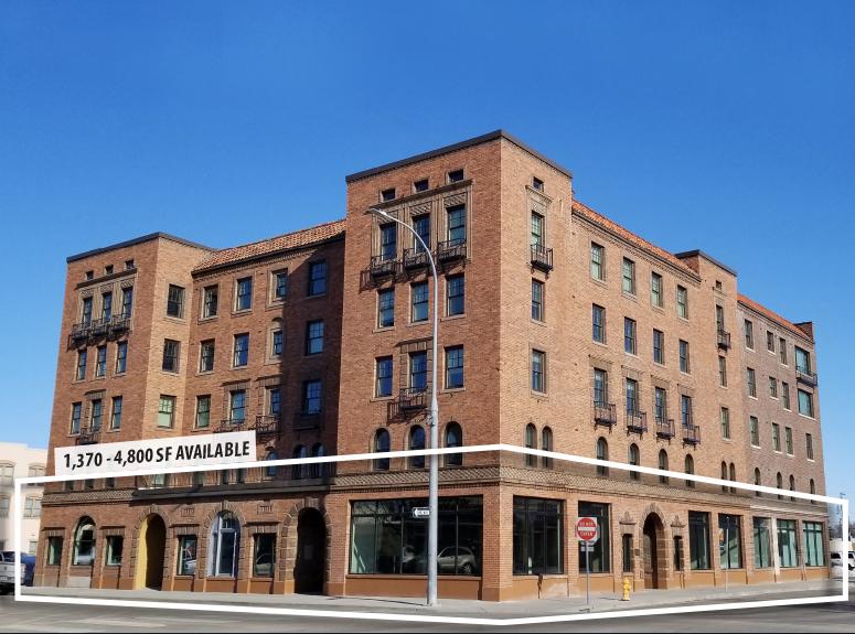 The Bonneville Retail located at 635 Park Avenue in Idaho Falls, Idaho