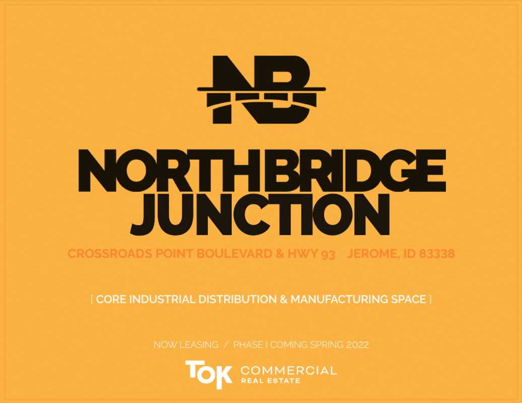 Northbridge Junction industrial park under construction in the Magic Valley