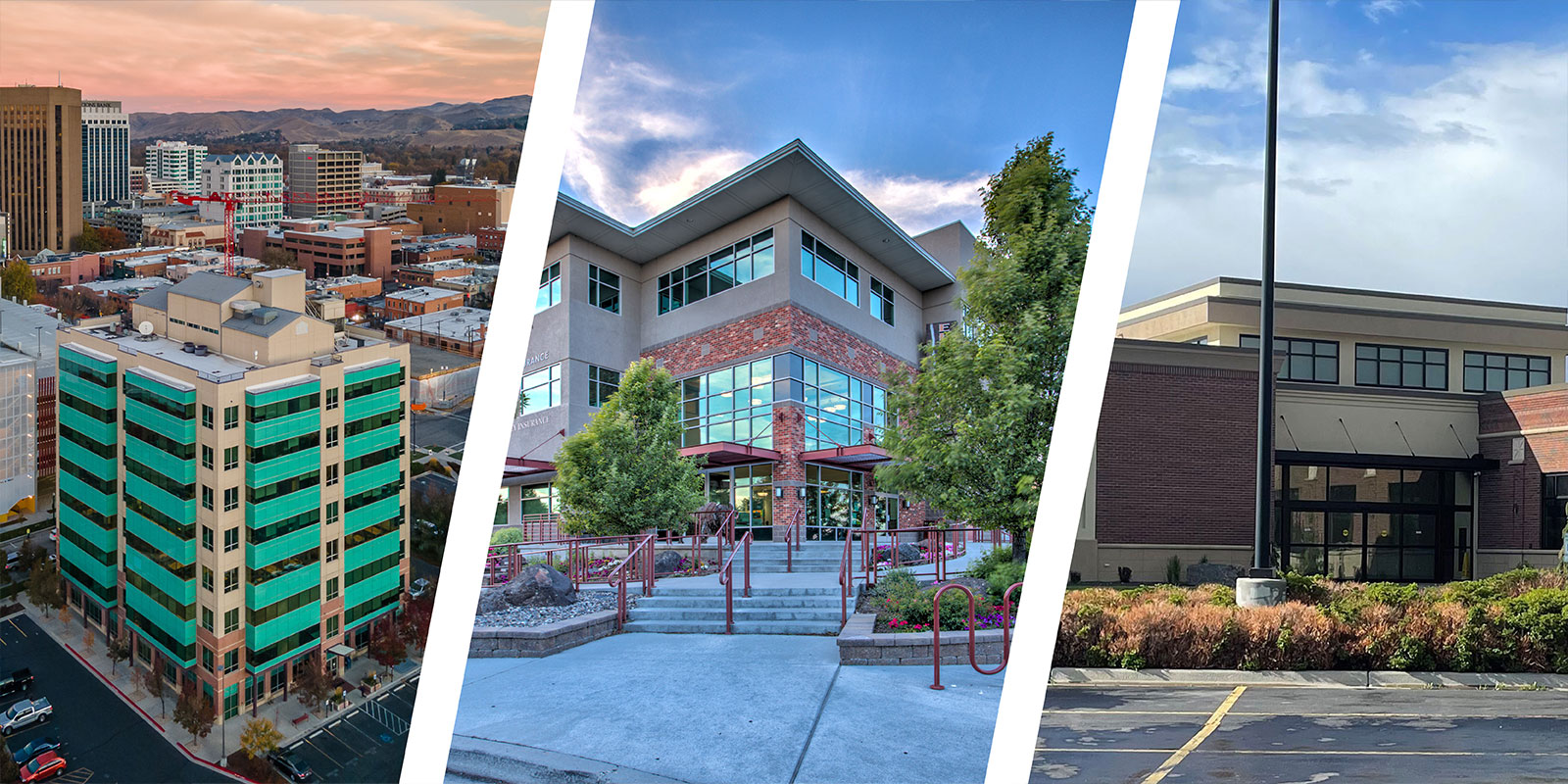 Views of our offices in markets across Idaho