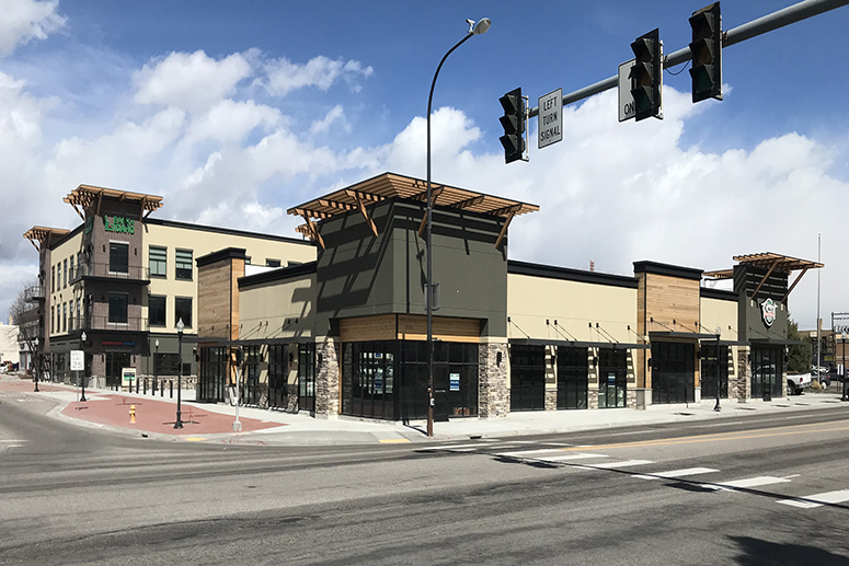 Adair Homes leases space in The Broadway