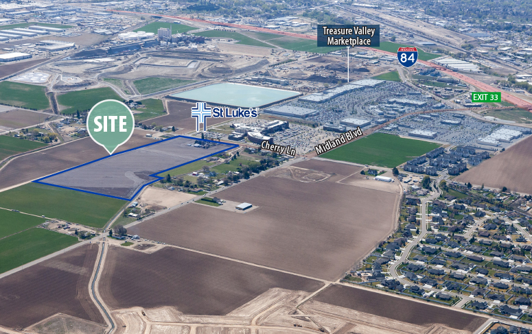TOK Commercial facilitates the sale of 33 acres of industrial land in Nampa.