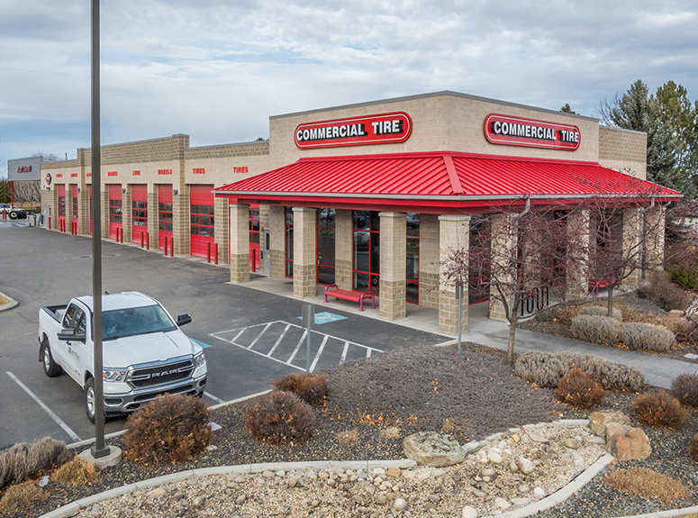 Photo of Commercial Tire | Located at 100 W. Pennwood Street in Boise, Idaho