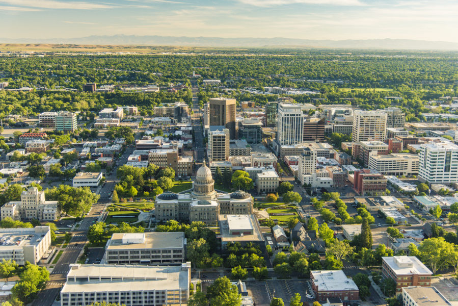 Downtown Boise's office market is very strong