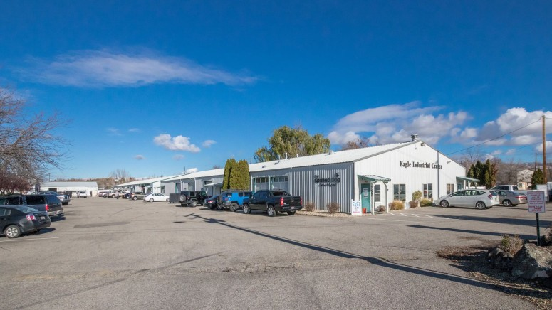 Woodlab lease industrial space Eagle Industrial Center Eagle Idaho