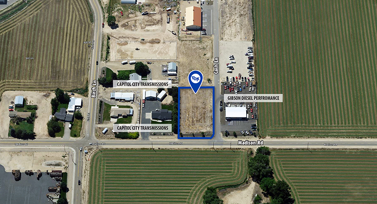 Madison Industrial Park 0.83 Acre of land Sells