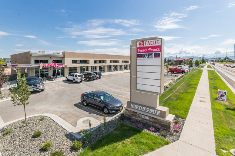 Northpointe Retail center in Meridian Idaho leased